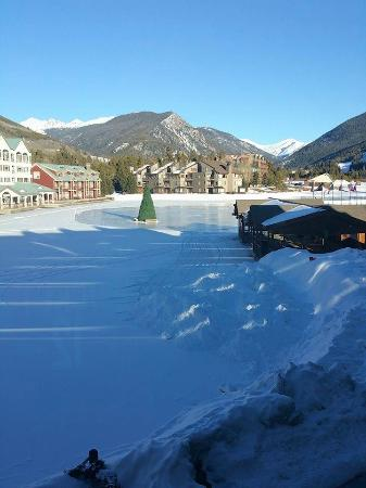 Keystone Village: The view from our room was amazing.