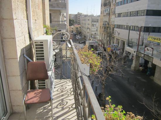 Alon Hotel: Вид с балкона