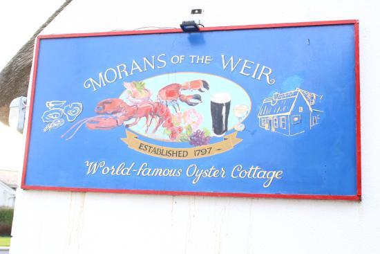 Morans Oyster Cottage: Moran's Oyster Cottage