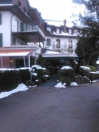 L'Hôtel de la Prairie : зимний la Prairie