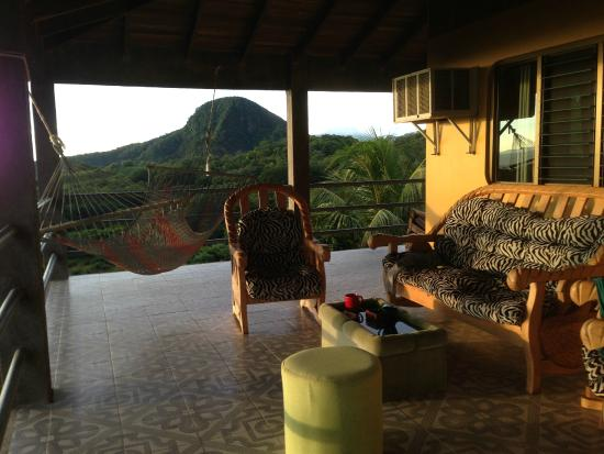 Iboga House: Plenty of places to sit and write in your journal