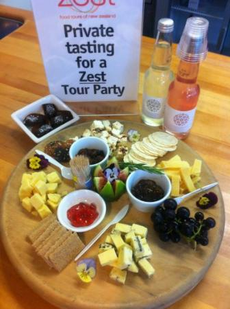 Zest Food Tours of New Zealand: Tastings at a Wellington favourite