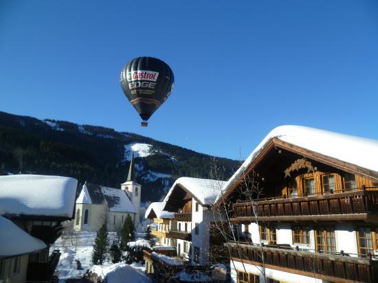 Hotel Bischofsmutze: mooie zicht van uit de kamer