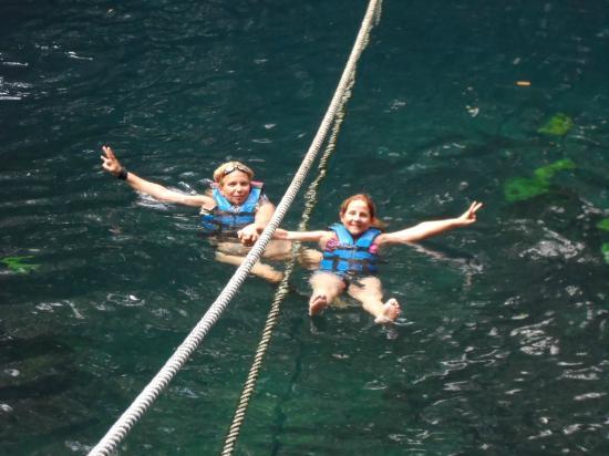 Puerto Morelos Adventure: Es un placer de agua dulce