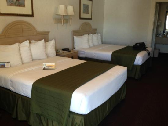 Quality Inn Marble Falls : Queen Size Beds