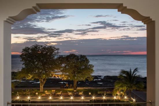 Rancho Santana: View from the Deluxe Suite at The Inn