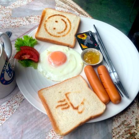 Khaosan Baan Thai: Breakfast