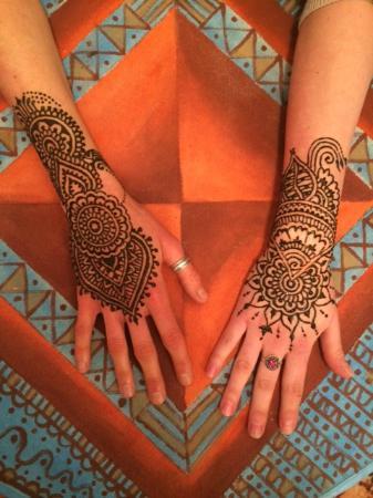Marrakech Henna Art Cafe: Henna!