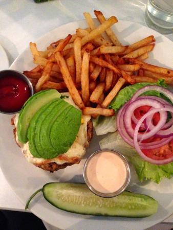 Centro Restaurant: Veggie Burger