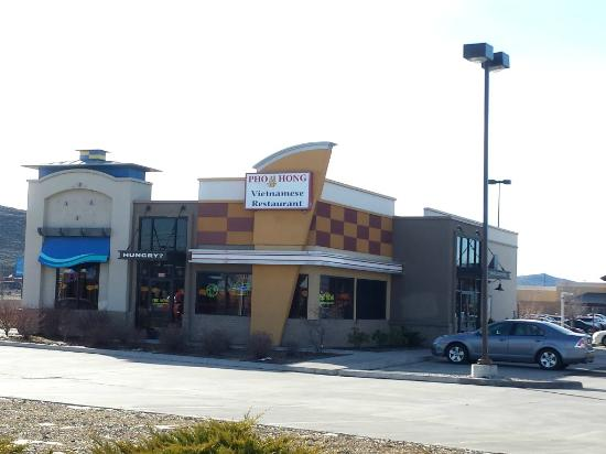 Pho Hoa & Hong: Restaurant seen from Washburn Way.