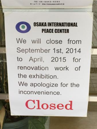 Peace Osaka : No vengan!!!!