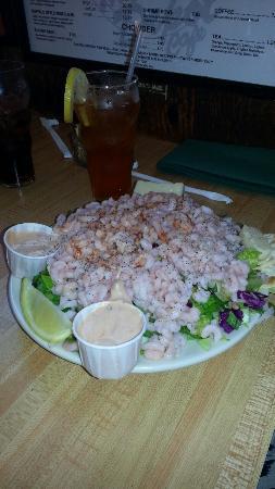 Depot Cafe: 1/2 order of shrimp salad