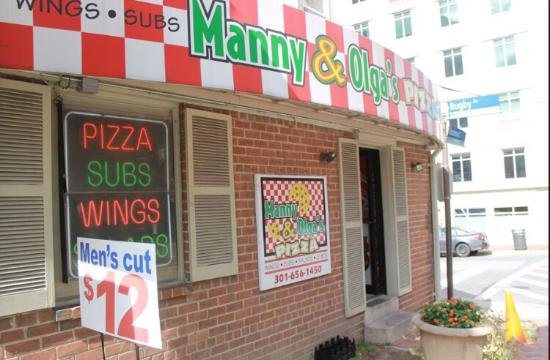 Manny & Olga's Pizza - Bethesda