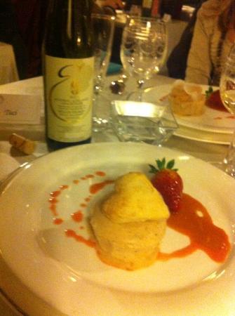 Castello dell'Oscano: cena