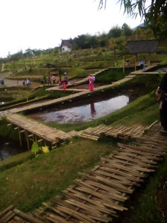 Dusun Bambu Family Leisure Park: village walk