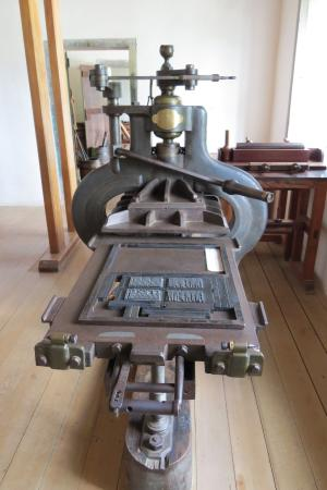 Pompallier Mission and Printery: Pompallier's Printing Press
