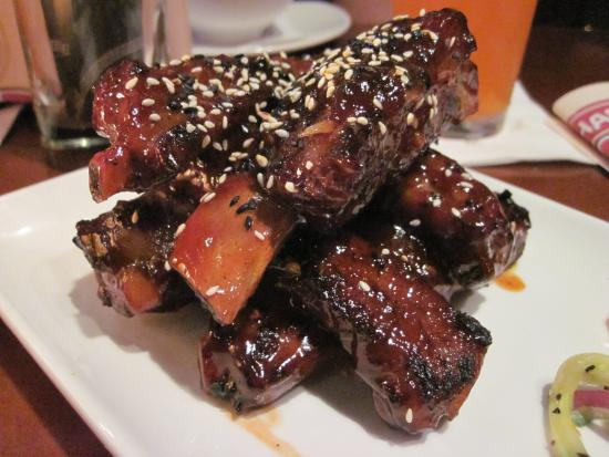P.F. Chang's: Chang's Spare Ribs starter (US$10.50).