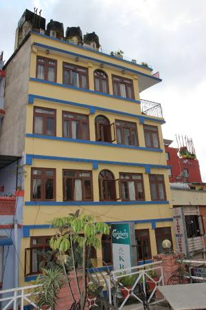 Shree Tibet Family Guest House: Hotel Bulding!!!