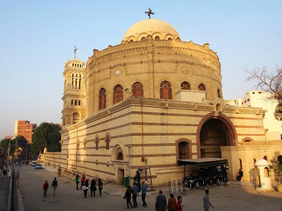Abu Serga (Saints Sergius and Bacchus Church) in Cairo, traditionally believed to have been built on the spot where Joseph, Mary, and Jesus rested at the end of their journey to Egypt.