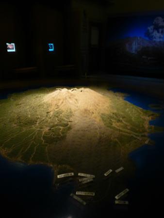 Sakurajima Visitor Center : Inside the Building
