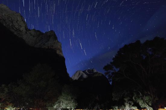 Zion Lodge: ザイオンの星空