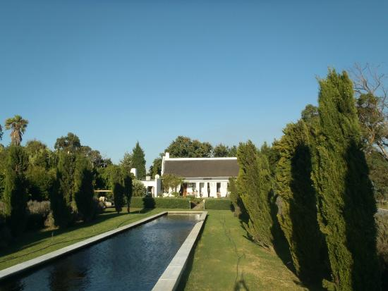 Hawksmoor House at Matjieskuil Farm : View from pool