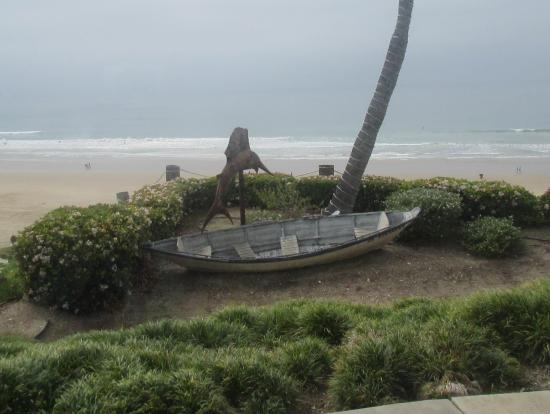 View from Our Table, Steamers of Pismo, Pismo Beach, Ca