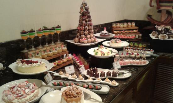 Christmas Buffet Desserts Picture Of Hilton Colombo
