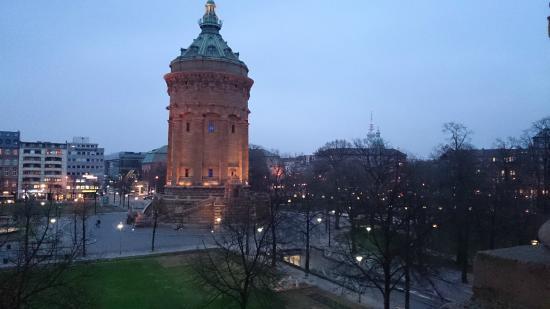 Maritim Parkhotel Mannheim: Вид из окна