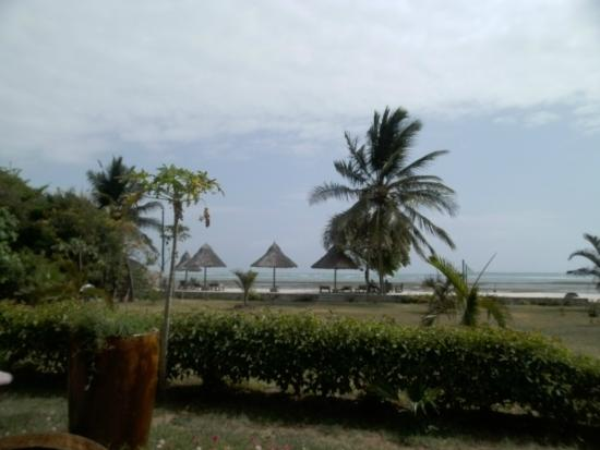 Kijiji Beach Resort: View from the eating area