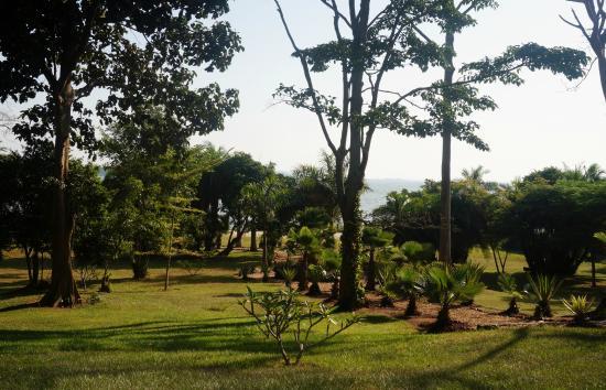 Lagoon Resort: Blick aus dem Speisesaal