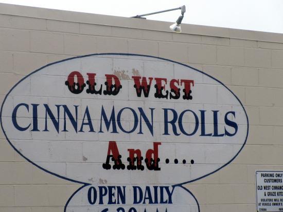 Old West Cinnamon Rolls, Pismo Beach, Ca