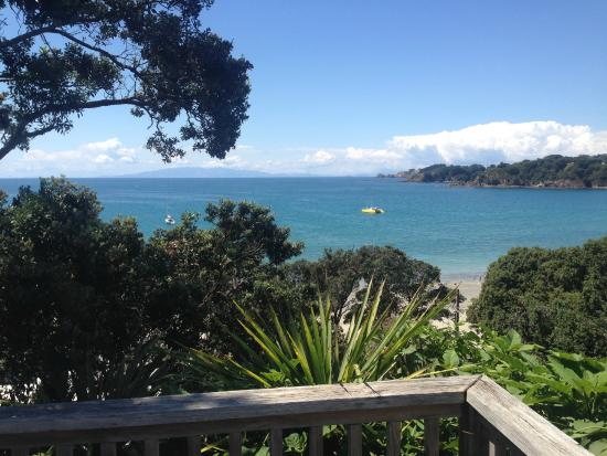 SeaDream: The view from the unit and patio over Oneroa Bay