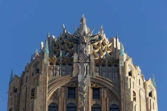 General Electric Building   Gothic/Art Deco Style
