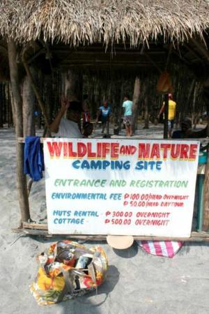 Canoe Beach Resort: Island Hopping- Anawangin Cove