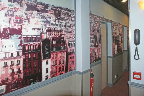 Hotel Opera Lafayette : Couloir