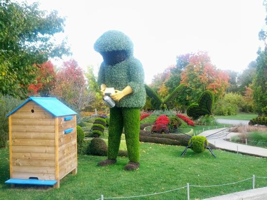 Jardin Botanique de Montreal : L'Apicoltore