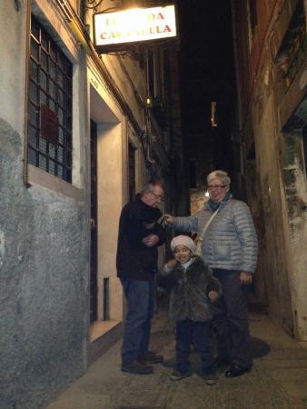 Locanda Cavanella: Al rientro...in cerca delle chiavi