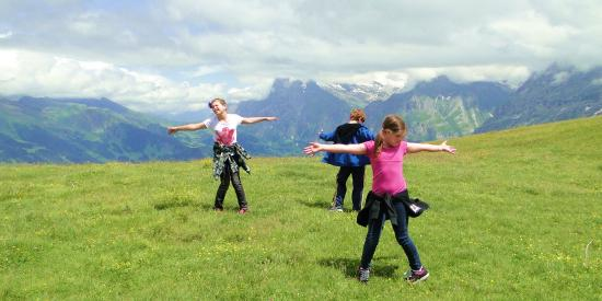 Grindelwald, Szwajcaria: The hills are alive