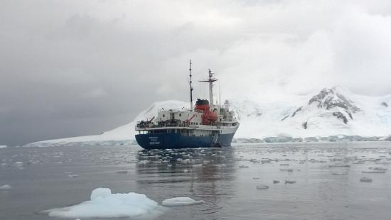 ‪‪South Pole‬: M/V Ushuaia‬