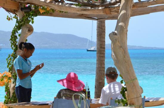 Goatie's: Goaties Beach Bar & Restaurant - Dining Area