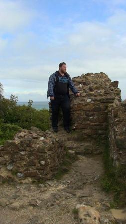 Hastings Castle: The Eastern gate