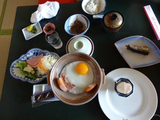 Hotel Grand Toya: 朝食(部屋食)