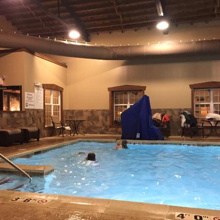 Clean Heated Pool And Hottub Picture Of Best Western Plus