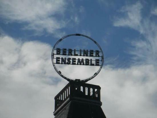 Berliner Ensemble: Outside