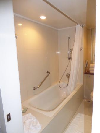 Step in bath type shower. Sea view deluxe room - Picture of Dusit ...