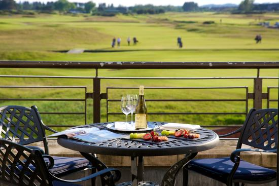 Carnoustie Golf Course Hotel: Terrace