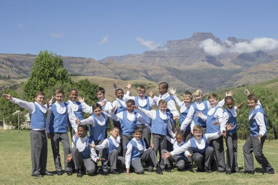 Winterton, Sudáfrica: Drakensberg Boys Choir