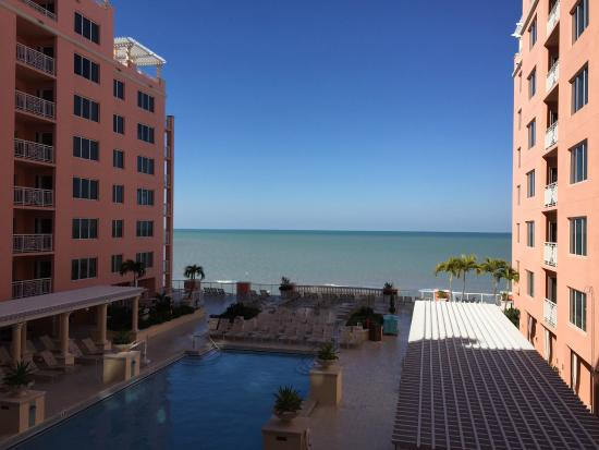 View from the balcony picture of hyatt regency - Hyatt regency clearwater 2 bedroom suite ...