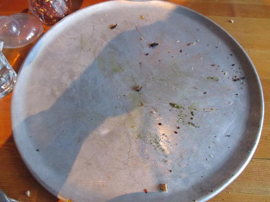 Rocky Mountain Flatbread Company: All gone